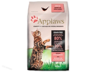 APPLAWS Dry Cat Chicken & Salmon (400g)