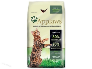APPLAWS Dry Cat Chicken with Lamb (400g)