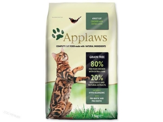 APPLAWS Dry Cat Chicken with Lamb (7,5kg)