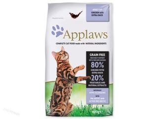 APPLAWS Dry Cat Chicken with Duck (400g)